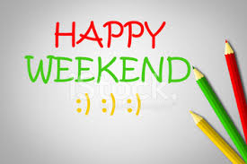 Happy Weekend Concept stock photos - VectorHQ.com